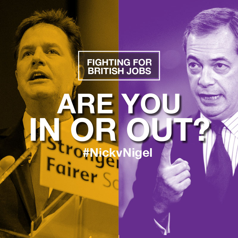 Are you In or Out? #NickvNigel
