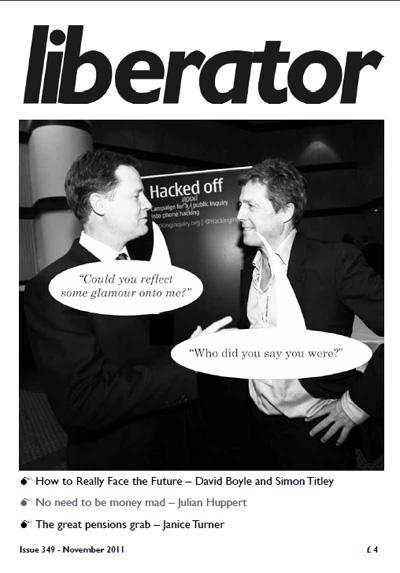 Liberator Magazine - November 2011 cover