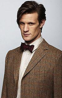 Matt Smith, the eleventh Doctor Who
