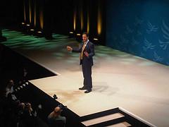 Nick Clegg speaking in Sheffield