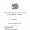 Parliamentary boundaries legislation