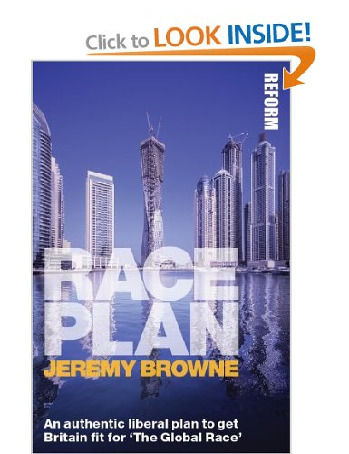 Race Plan by Jeremy Browne