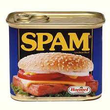 A tin of spam