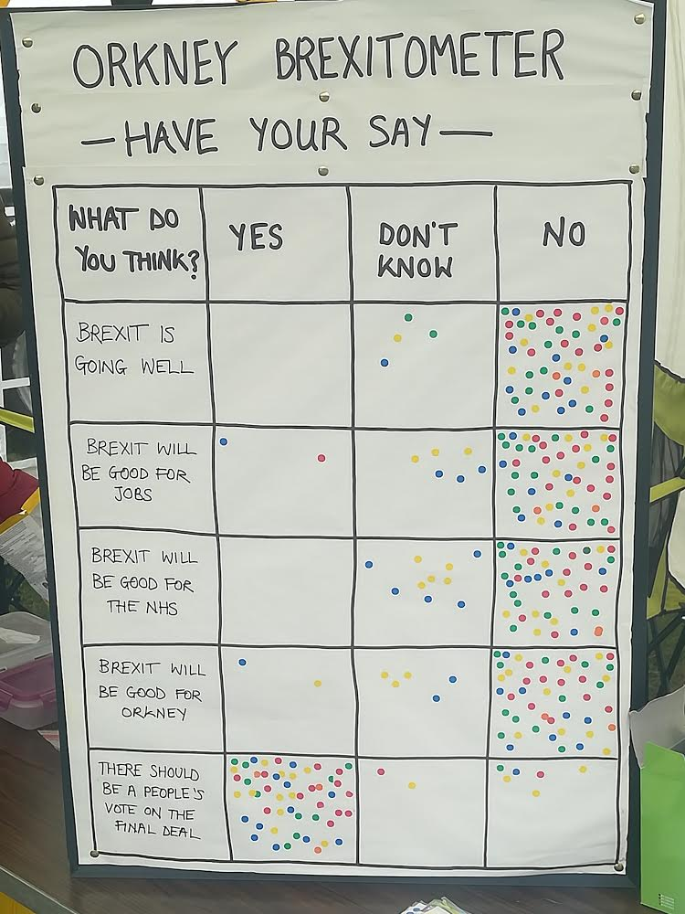 Orkney Liberal Democrats Brexit poll