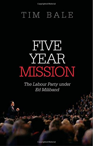 Book cover: Tim Bale - Five Year Mission
