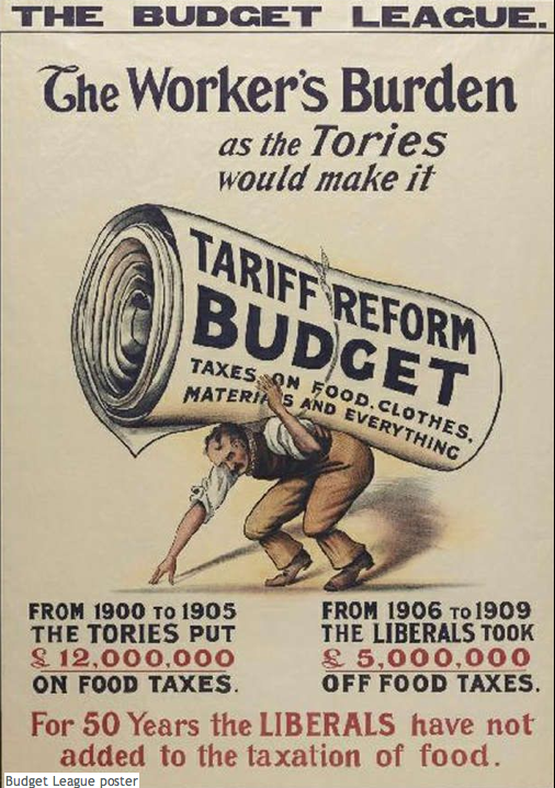 1910 Liberal Party election poster