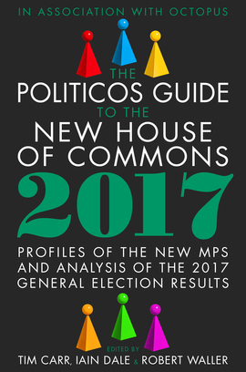 Politicos Guide to the new House of Commons - book cover