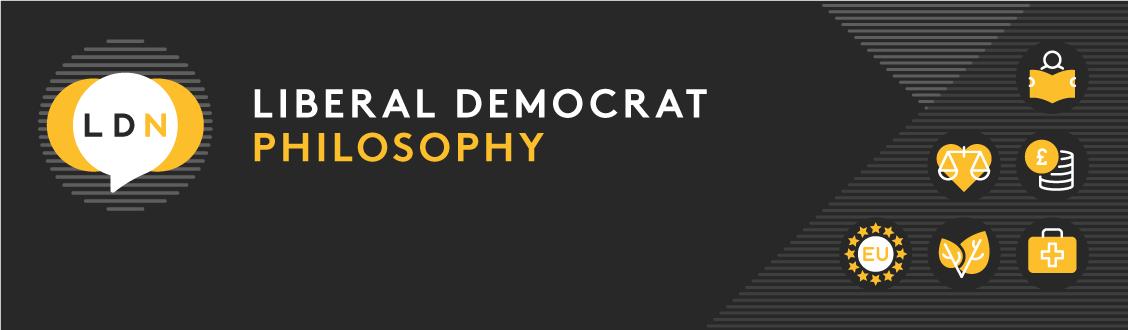Liberal Democrat philosophy series - header graphic