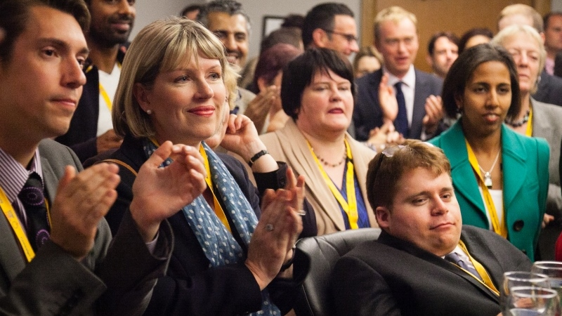 Members of the Lib Dem Leadership Programme