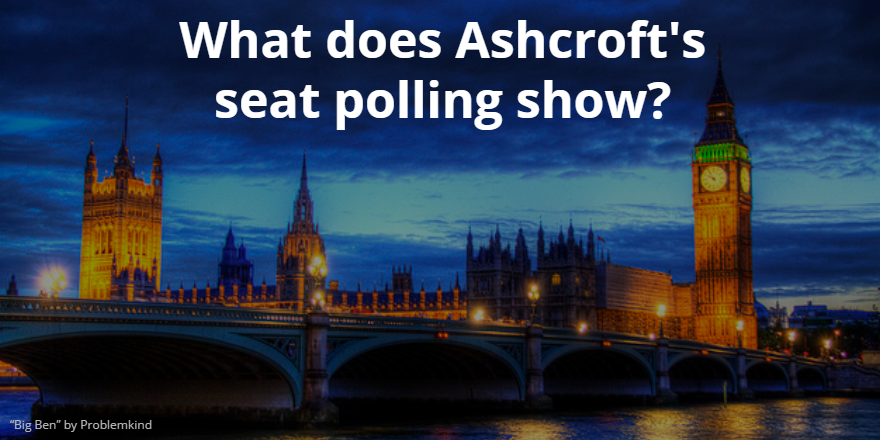What does Lord Ashcroft's polling show?