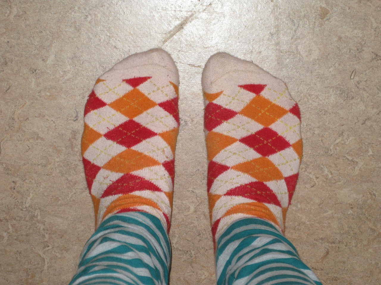 These are not my socks.