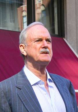 John Cleese. Photo courtesy of Paul Boxley. Licensed under CC BY-SA 2.0 via Wikimedia Commons - http://commons.wikimedia.org/wiki/File:John_Cleese_2008_bigger_crop.jpg#/media/File:John_Cleese_2008_bigger_crop.jpg