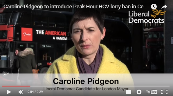 Caroline Pidgeon video screenshot