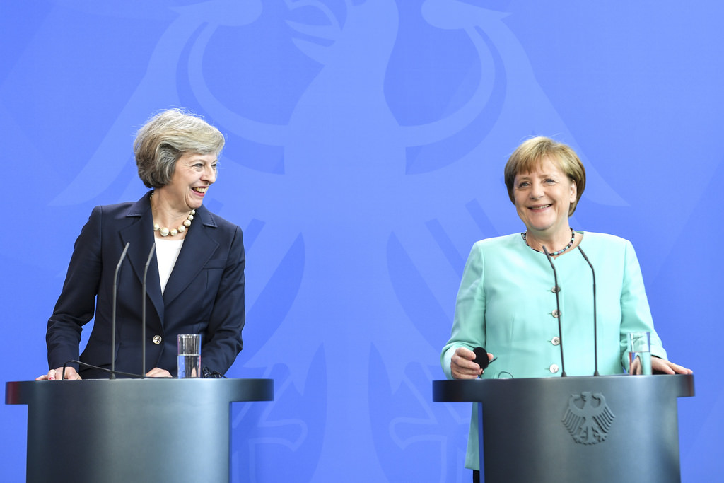Theresa May and Angela Merkel - photo CC BY-NC-ND 2.0 courtesy of 10 Downing Street