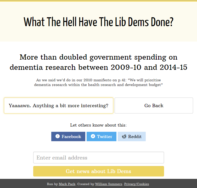 What The Hell Have The Lib Dems Done?