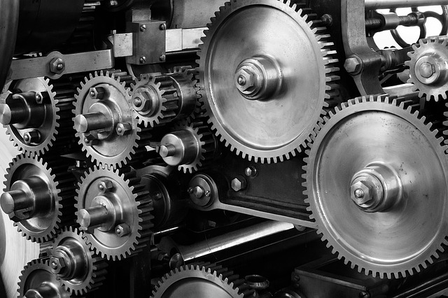 Cogs and gears - CC0 Public Domain