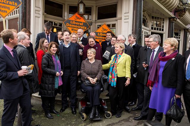 Lib Dem 2015 election cabinet