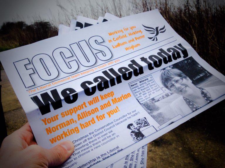 Waterside Focus leaflet - photo courtesy of ALDC