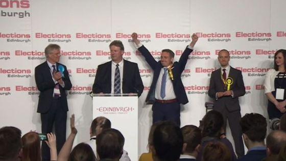 Lib Dems gain Edinburgh Western in Scottish Parliament elections