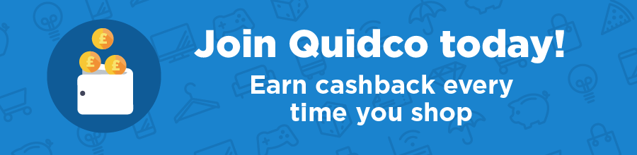 Save money when you shop with Quidco