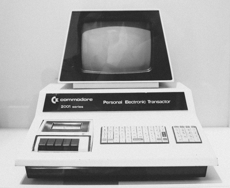 Commodore computer - Photo by Anastasia Dulgier - Unsplash license