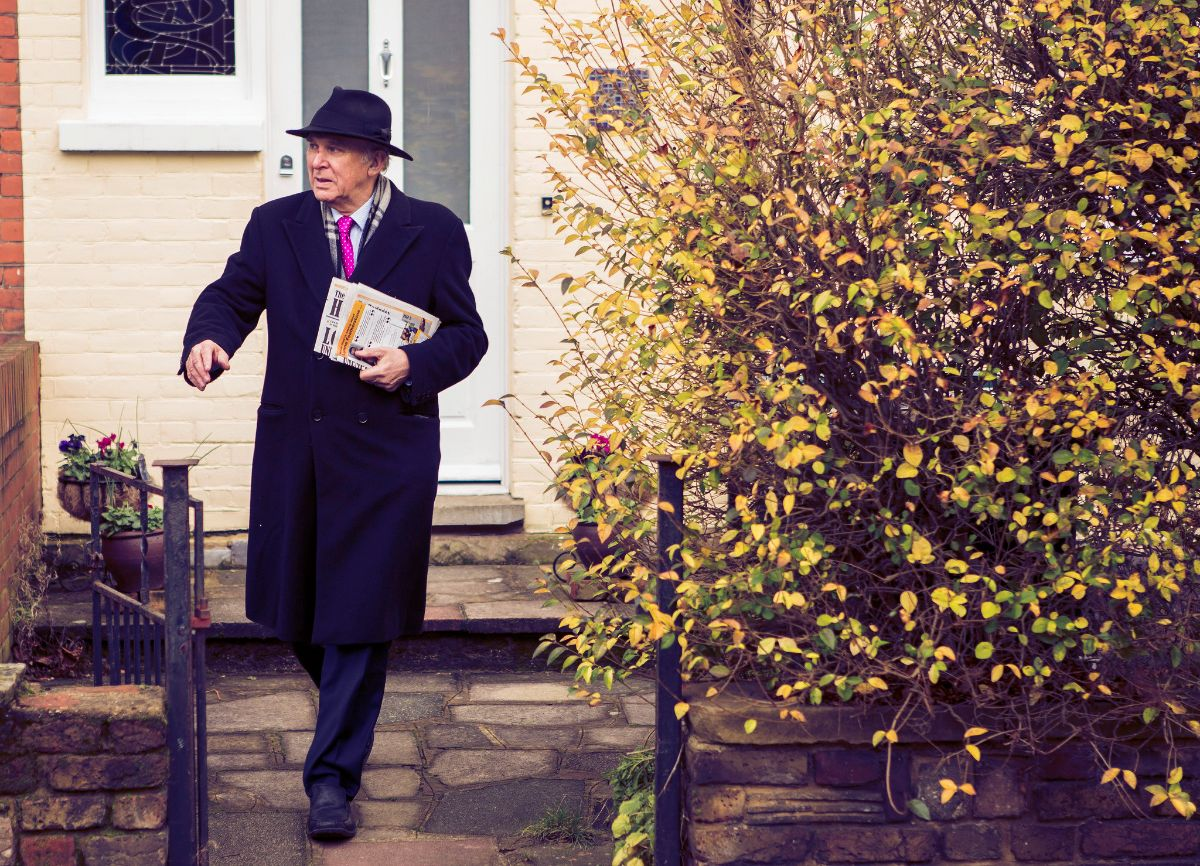Vince Cable on the doorstep: photo courtesy of the Lib Dems - CC BY ND 2.0
