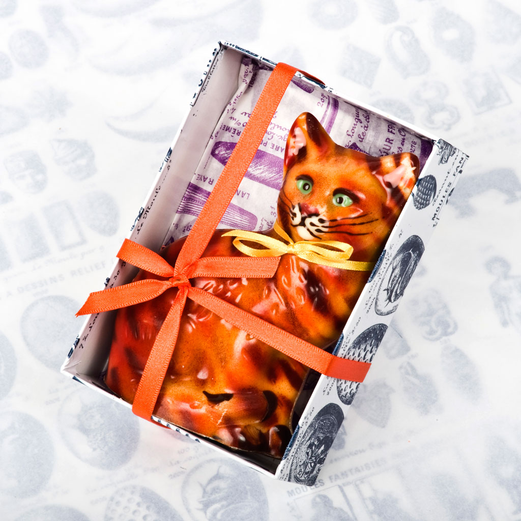 'Marmadale' Chocolate Cat