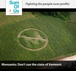 teken de petitie tegen Monsanto