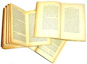 oude wetenschappelijke boeken