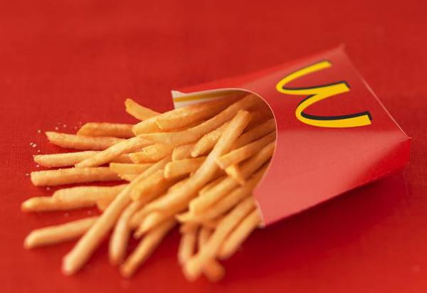 de 13 ingrediënten in friet van McDonalds