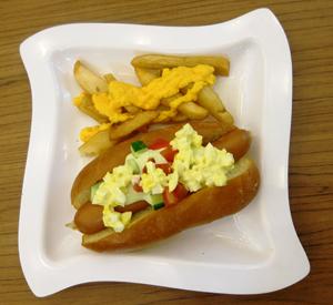 hotdog en friet