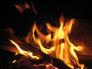 onveilig vuur