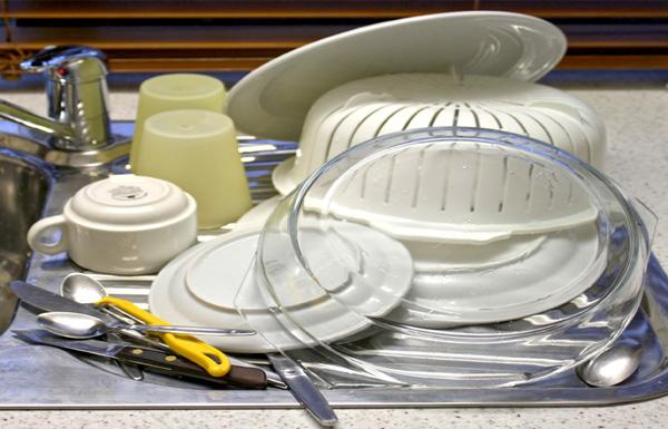 Aan de afwas!