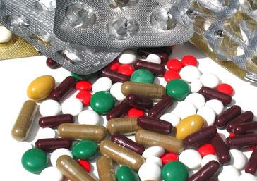 pillen, pillen en nog eens pillen slikken ...