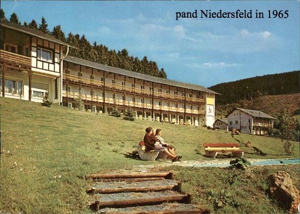 Niedersfeld in 1965