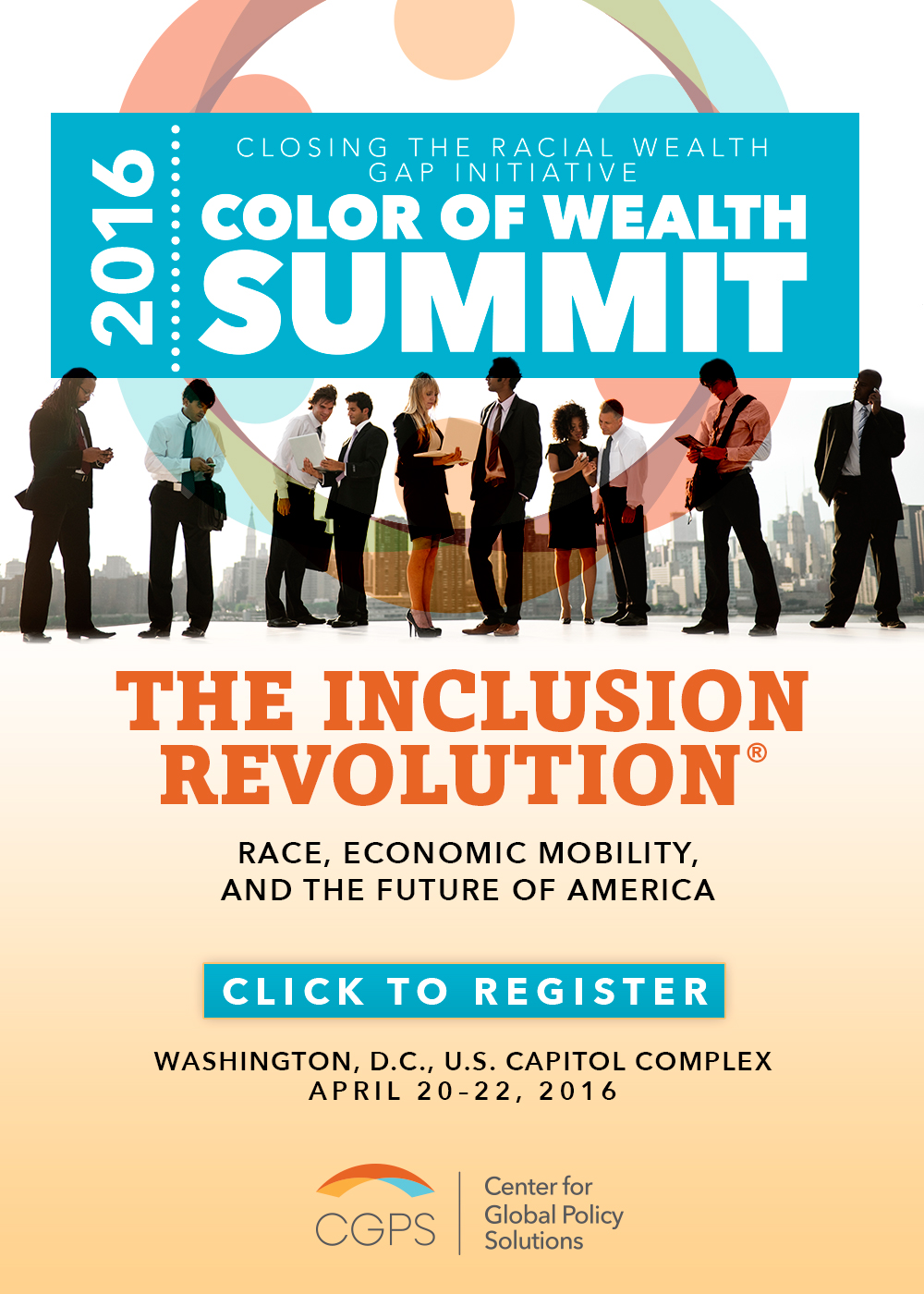 Color of Wealth Poster