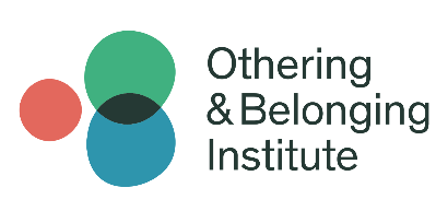 Logo for Othering & Belonging Institute- three circles joined