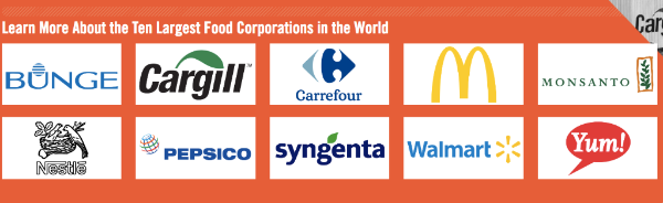 An image shows the corporate logos of the 10 corporations profiled in the shahidi project