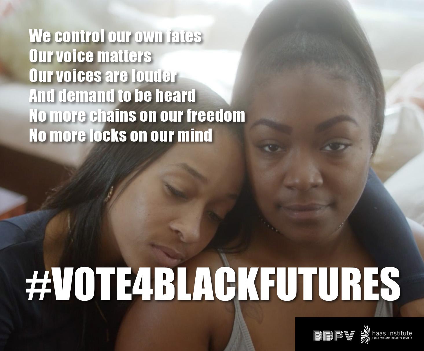 Vote4BlackFutures image