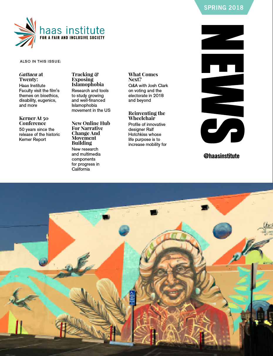 Cover of the Spring 2018 news magazine