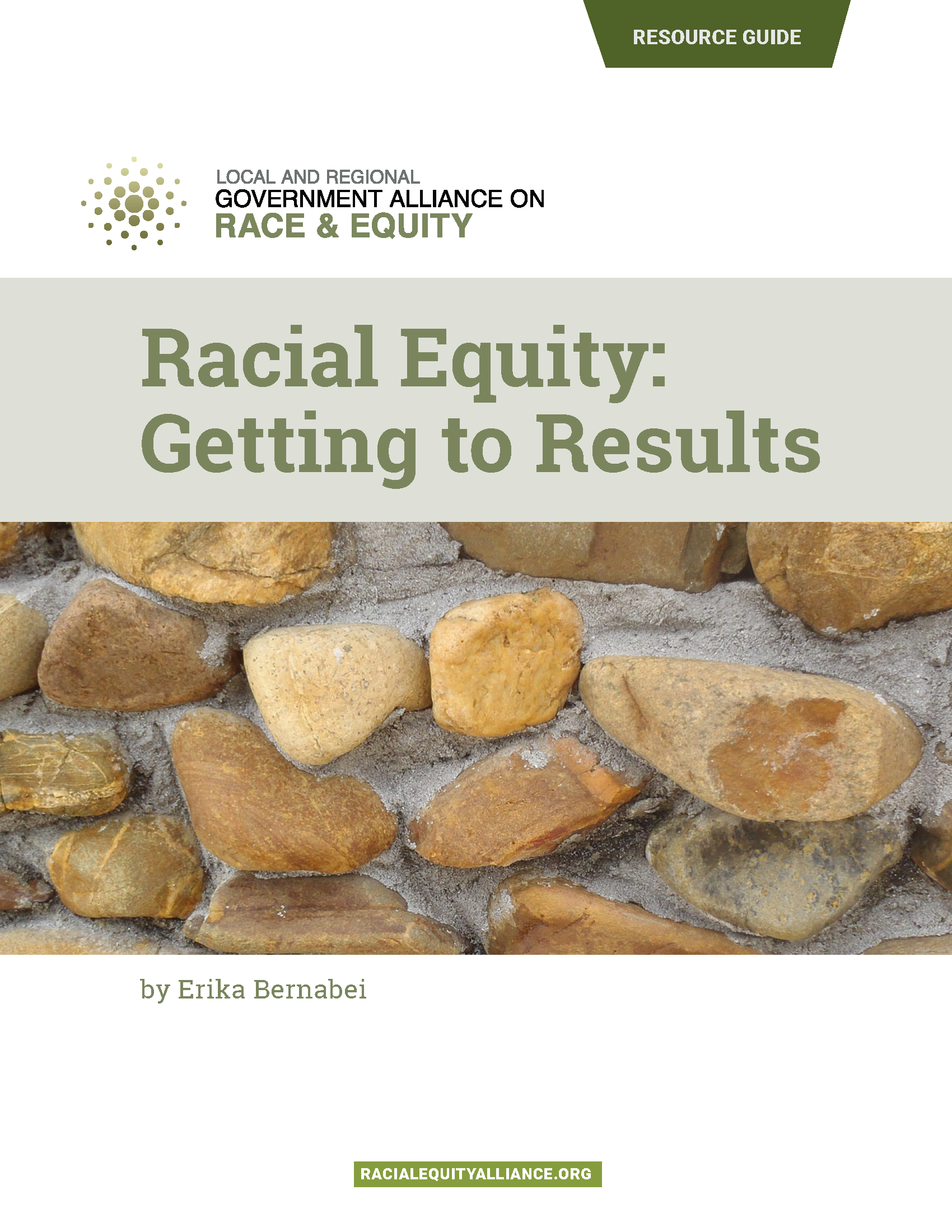 Cover of Racial Equity: Getting to results