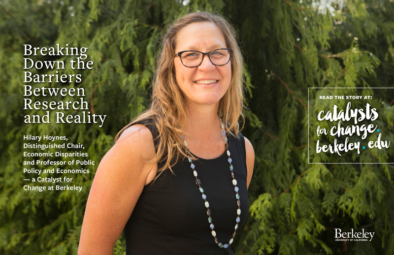 Hilary Hoynes Catalysts for Change