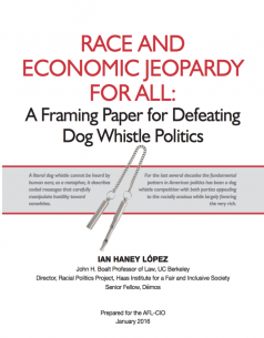 Race and Economic Jeopardy for All Cover