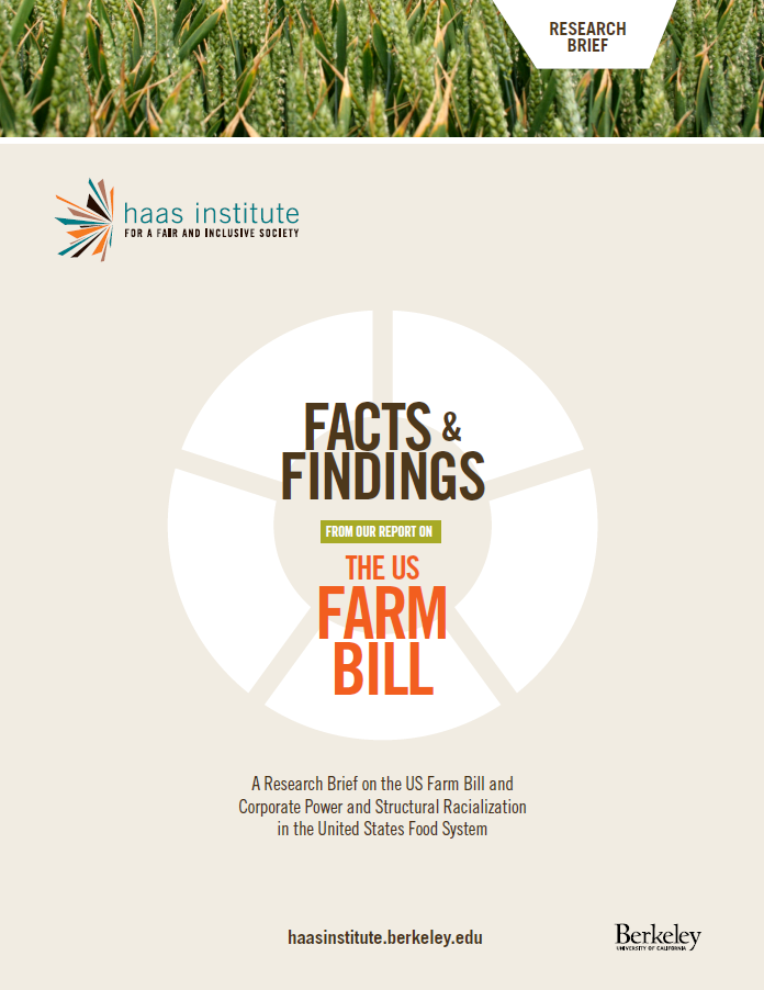 Facts and Findings US Farm Bill Report Cover