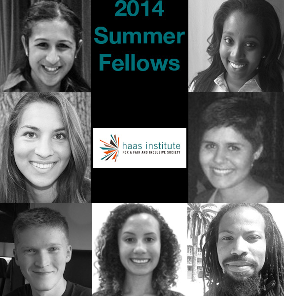 2014 Haas Institute Summer Fellows