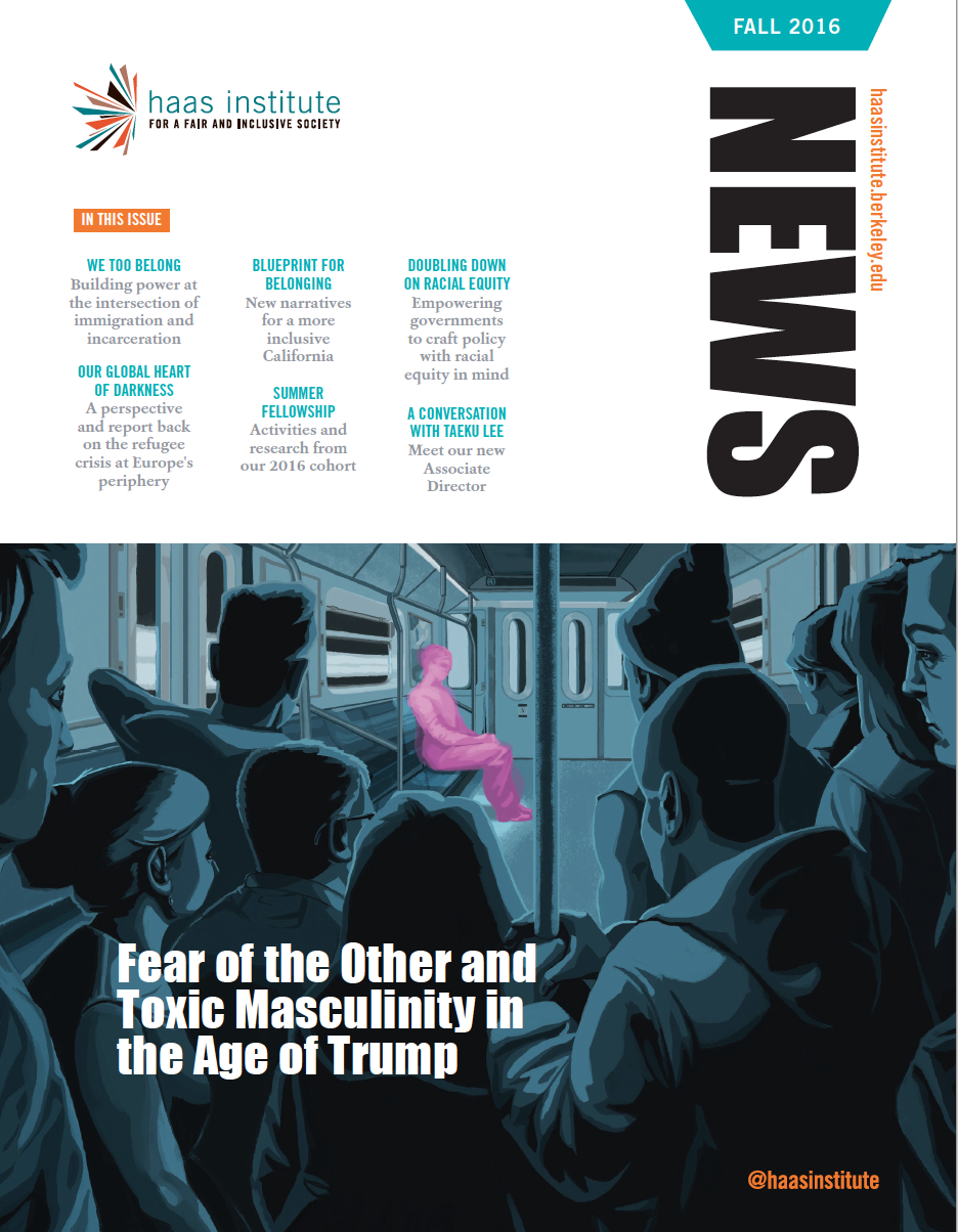 Cover image of Haas Institute newsletter
