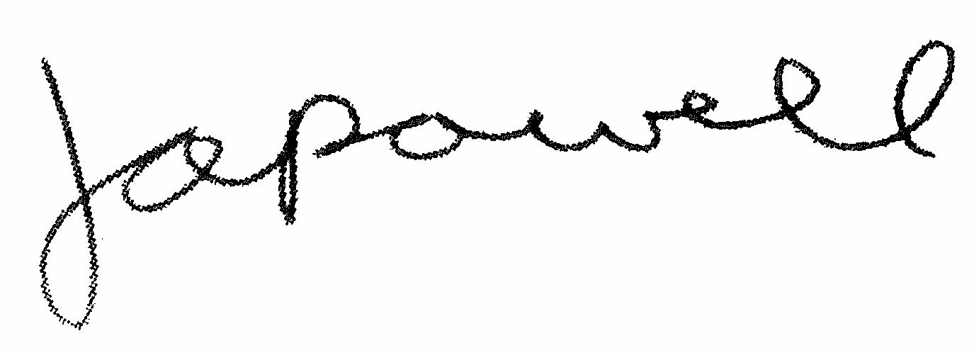 the signature of johnpowell