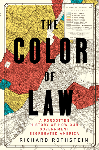 The cover of The Color of Law