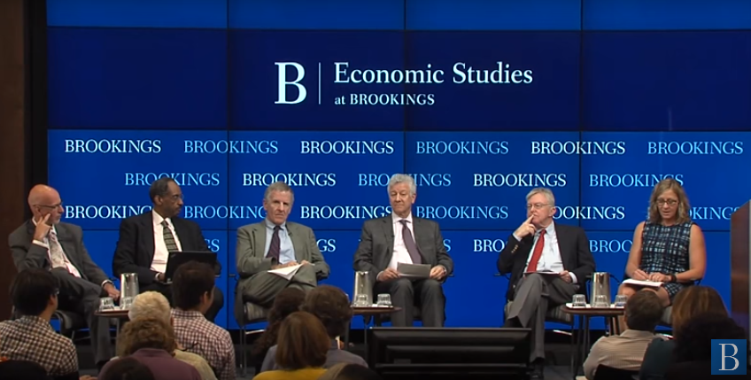 Work and Poverty Panel at Brookings Institute event
