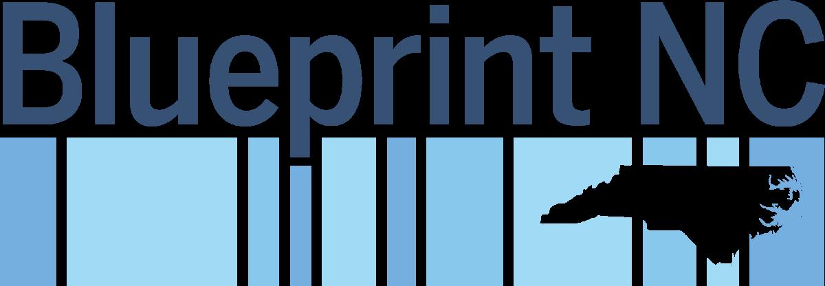 Blueprint NC logo (blue and white)